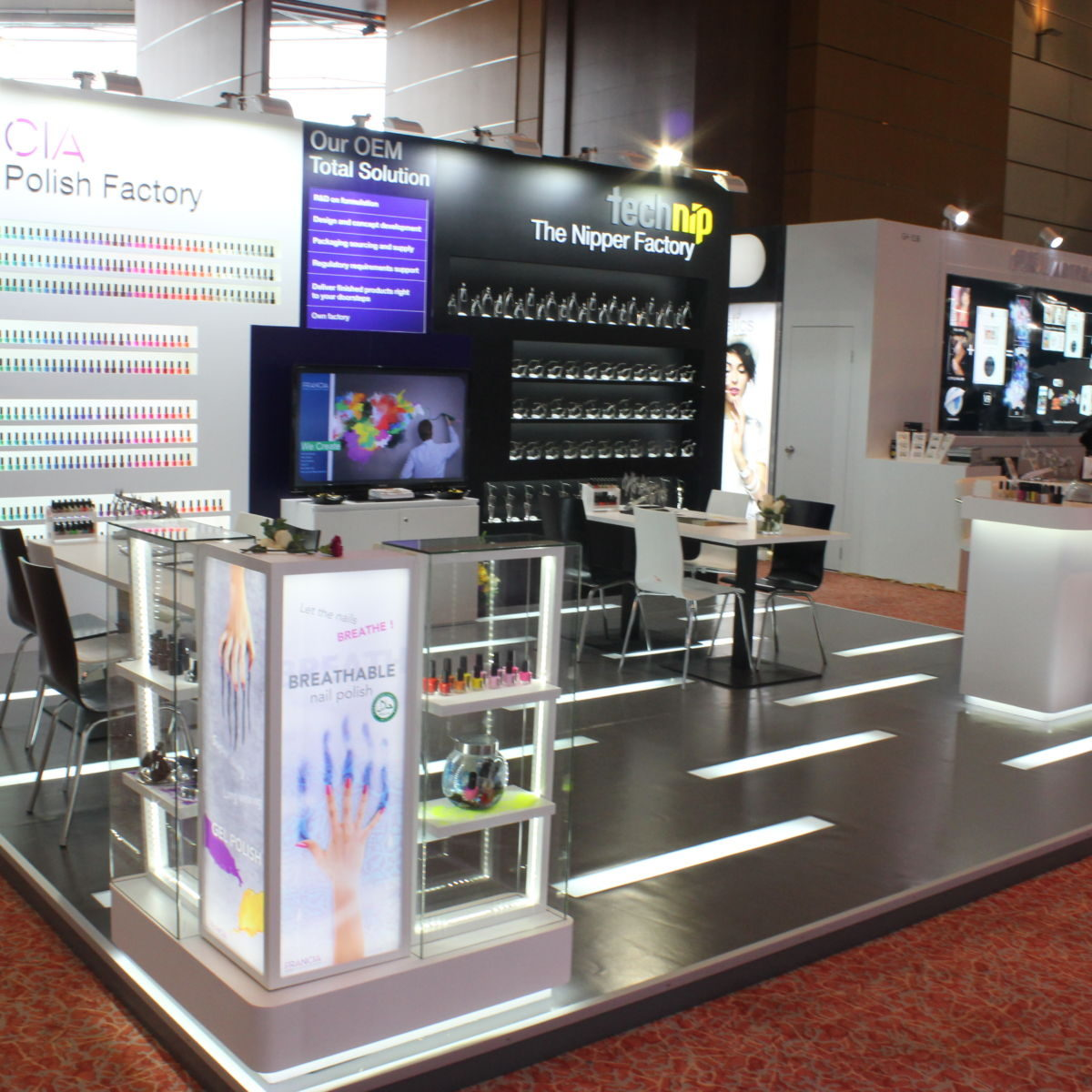 FRANCIA BEAUTY GROUP IN COSMOPROF ASIA 2015